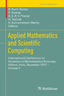 Applied Mathematics and Scientific Computing - International Conference on Advances in Mathematical Sciences, Vellore, India, December 2017 - Volume II