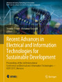 Recent Advances in Electrical and Information Technologies for Sustainable Development - Proceedings of the 3rd International Conference on Electrical and Information Technologies - ICEIT 2017, Morocco