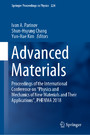 Advanced Materials - Proceedings of the International Conference on 'Physics and Mechanics of New Materials and Their Applications', PHENMA 2018
