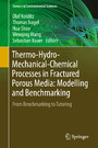 Thermo-Hydro-Mechanical-Chemical Processes in Fractured Porous Media: Modelling and Benchmarking - From Benchmarking to Tutoring