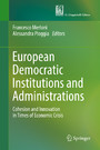 European Democratic Institutions and Administrations - Cohesion and Innovation in Times of Economic Crisis