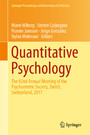 Quantitative Psychology - The 82nd Annual Meeting of the Psychometric Society, Zurich, Switzerland, 2017