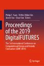 Proceedings of the 2019 DigitalFUTURES - The 1st International Conference on Computational Design and Robotic Fabrication (CDRF 2019)