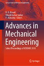 Advances in Mechanical Engineering - Select Proceedings of ICRIDME 2018