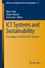 ICT Systems and Sustainability - Proceedings of ICT4SD 2019, Volume 1