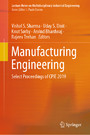 Manufacturing Engineering - Select Proceedings of CPIE 2019
