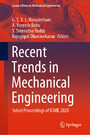 Recent Trends in Mechanical Engineering - Select Proceedings of ICIME 2020