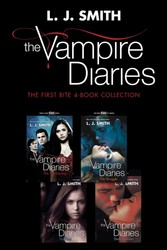 Vampire Diaries: The First Bite 4-Book Collection - The Awakening, The Struggle, The Fury, Dark Reunion