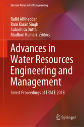 Advances in Water Resources Engineering and Management - Select Proceedings of TRACE 2018
